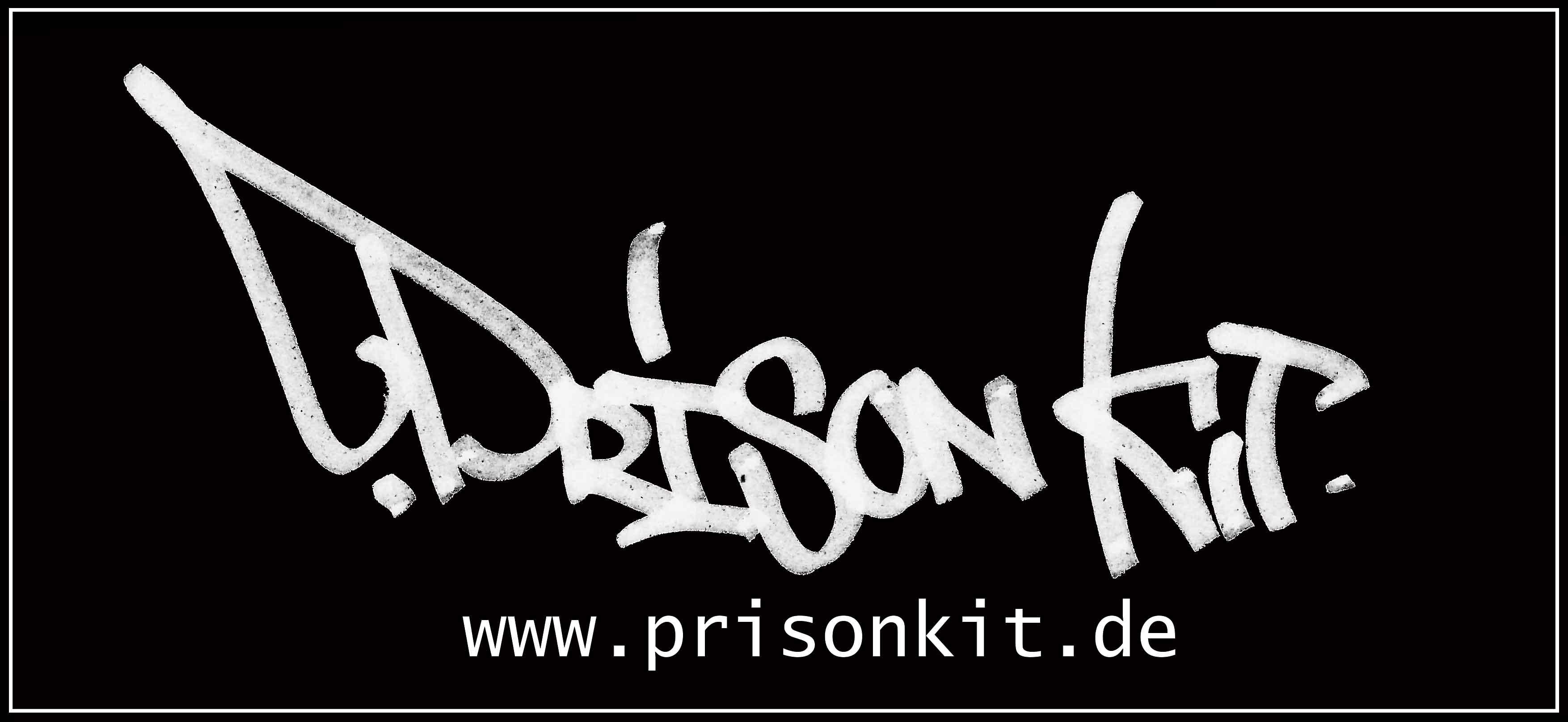 Prison Kit - StickerTag_schwarz